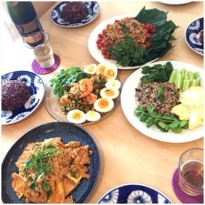 タイ料理フードライタールイさんの作る美味しいタイ料理*_a0261026_1341057.jpg