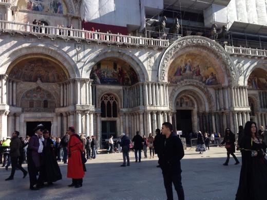 24/02/2014  ヴェネツィア:サンマルコ広場_a0136671_05003912.jpg