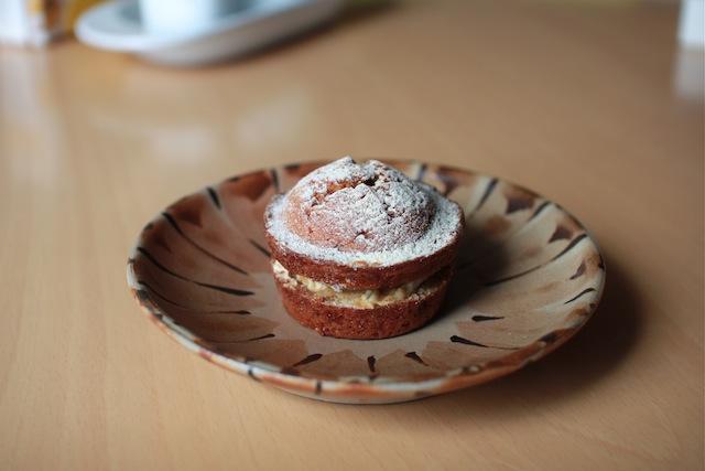 黒蜜もちケーキとブルーベリーチーズケーキマフィン_e0287190_14523052.jpg