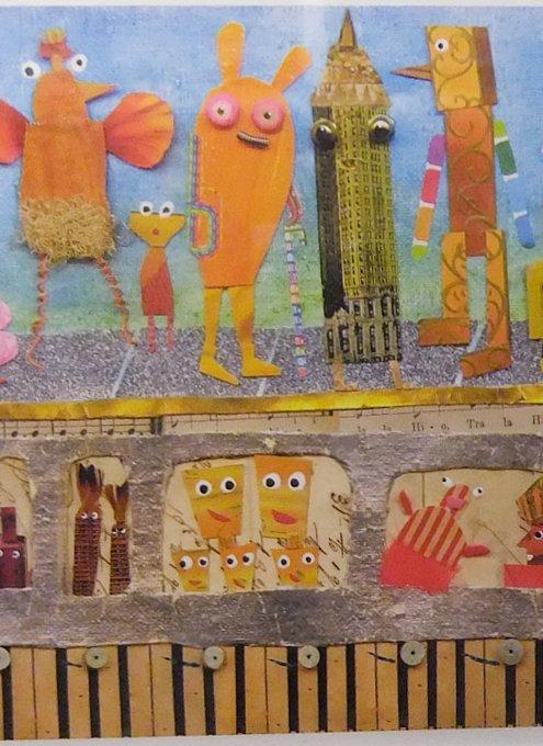 NYの地下鉄車両内で見かけたアート作品_b0007805_2304894.jpg