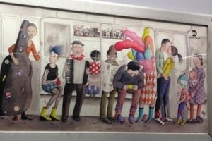NYの地下鉄車両内で見かけたアート作品_b0007805_237672.jpg