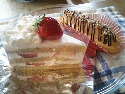 今日のケーキです。_e0170128_1026265.jpg
