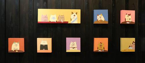 【猫といっぷく】vs.【さざんかの予感】今週末まで_a0017350_3155257.jpg