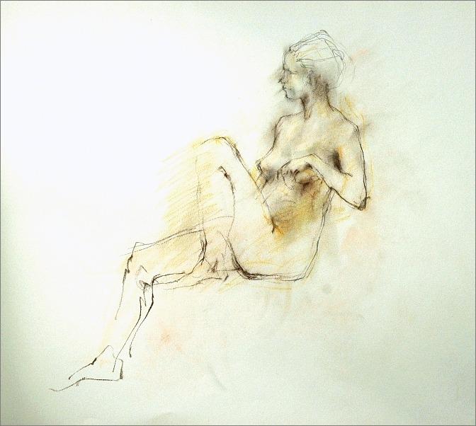 《 裸婦素描 》_f0159856_1128102.jpg