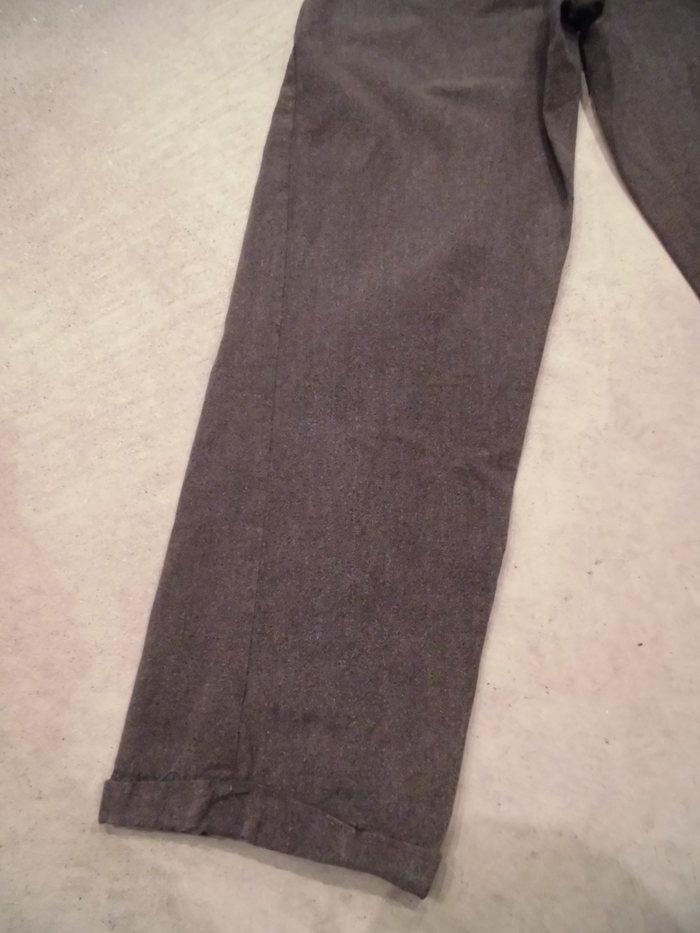 VINTAGE Black Chambray Pants_e0187362_1345940.jpg