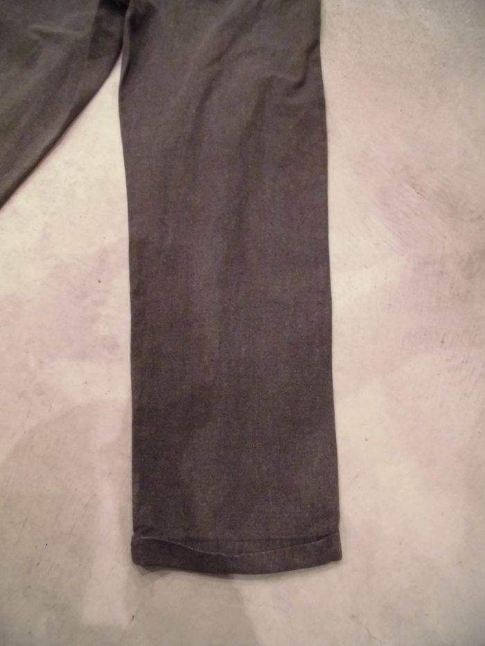 VINTAGE Black Chambray Pants_e0187362_1353219.jpg