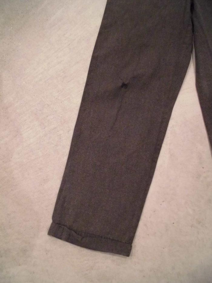 VINTAGE Black Chambray Pants_e0187362_1374238.jpg