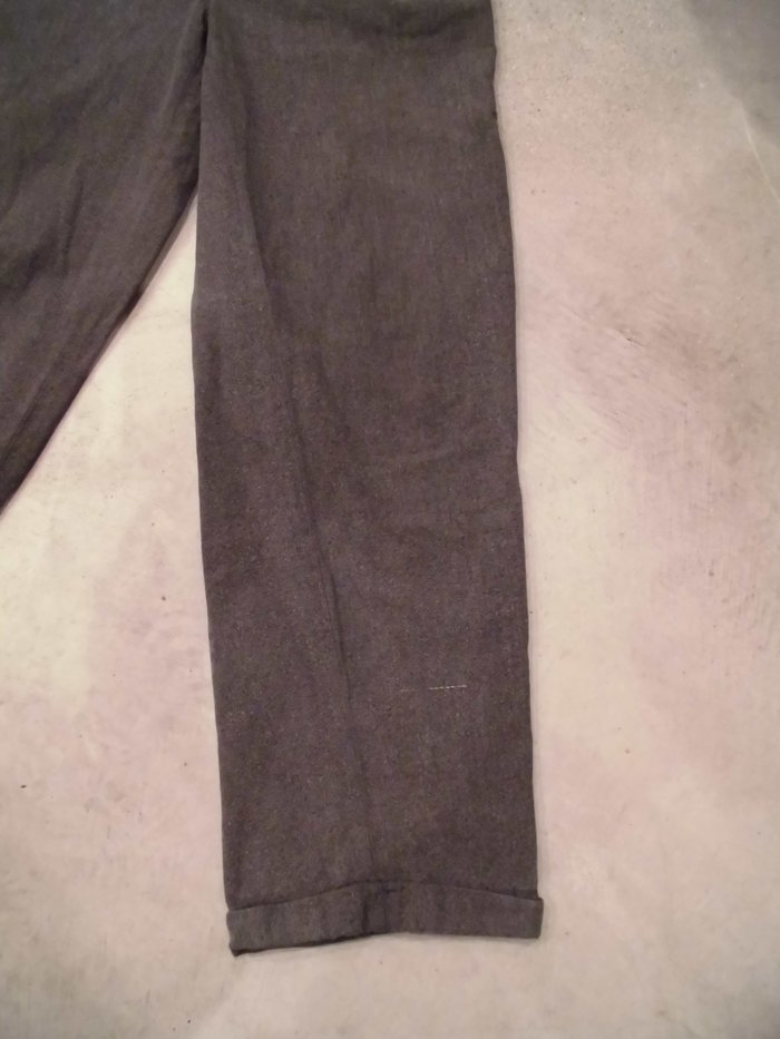 VINTAGE Black Chambray Pants_e0187362_1381273.jpg