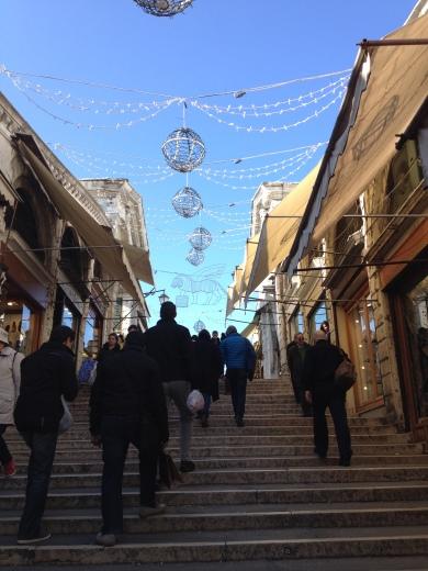 24/02/2014  ヴェネツィア:リアルト橋_a0136671_03415099.jpg