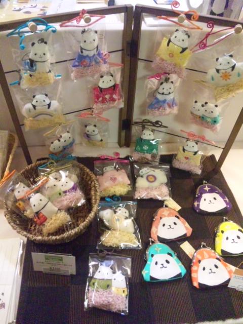 阪神百貨店「パンダの作品展」始まりました!作品紹介_d0322493_0165213.jpg