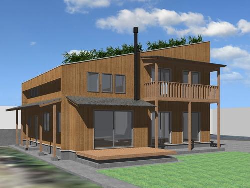 芝置屋根の家3_e0054299_1327178.jpg