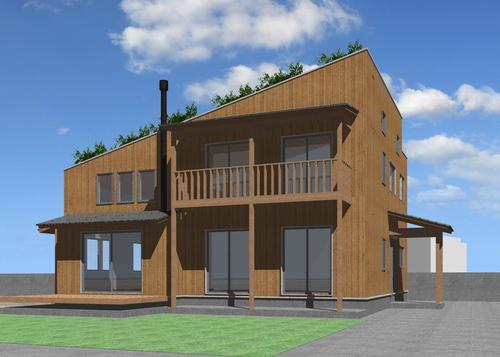 芝置屋根の家3_e0054299_13281696.jpg