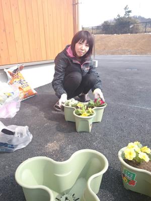 S.P.お花でいっぱいプロジェクト③_a0154110_17163561.jpg