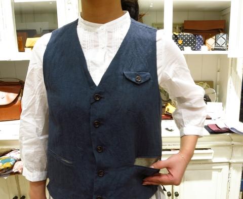 LINAS リネンのギャザースカートがすてき!_c0227633_13164832.jpg