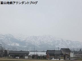 2月最後は、立山連峰がきれいに見えた_a0243562_1043543.jpg