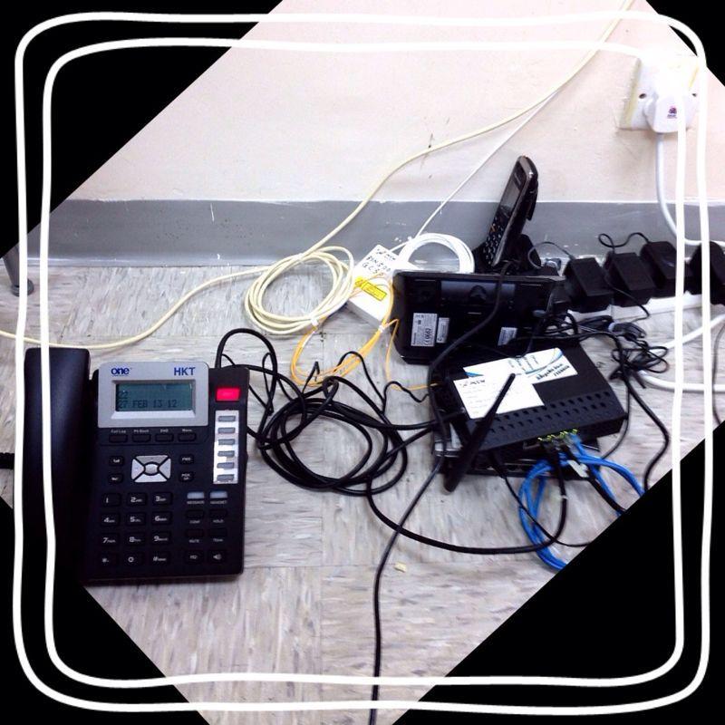 電話工事_a0145984_3294977.jpg
