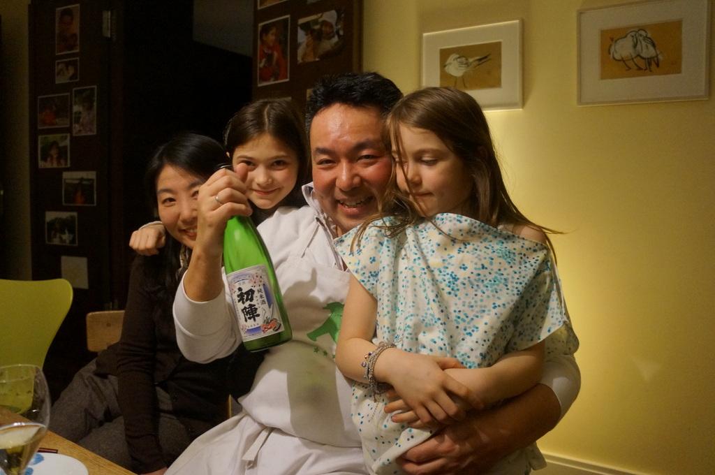 可愛い三姉妹と巻寿し作りの会。_c0180686_05091597.jpg