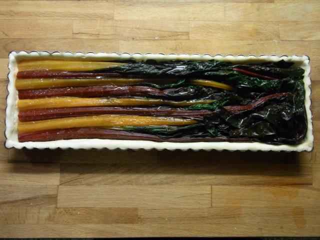 Torta salata di Bietole ☆カラフル野菜、ビエトレのタルト_b0246303_07224280.jpg
