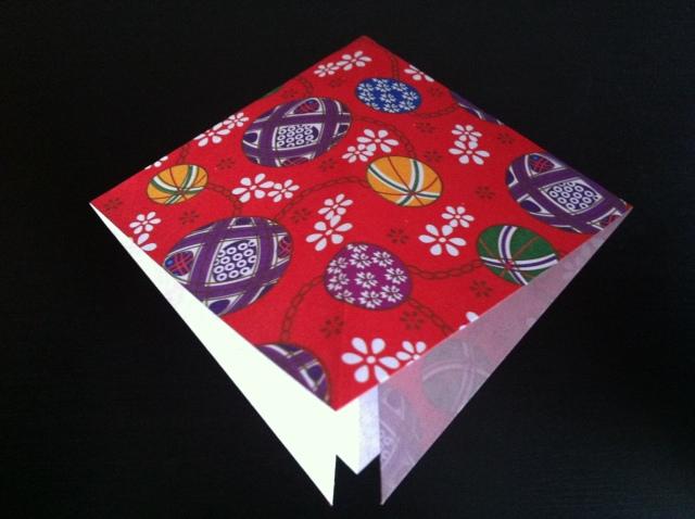 折り紙で雛人形 -女雛- ✿ Origami Ⅻ ①_b0246303_22431411.jpg
