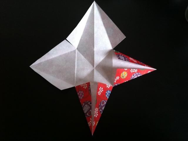 折り紙で雛人形 -女雛- ✿ Origami Ⅻ ①_b0246303_22475416.jpg