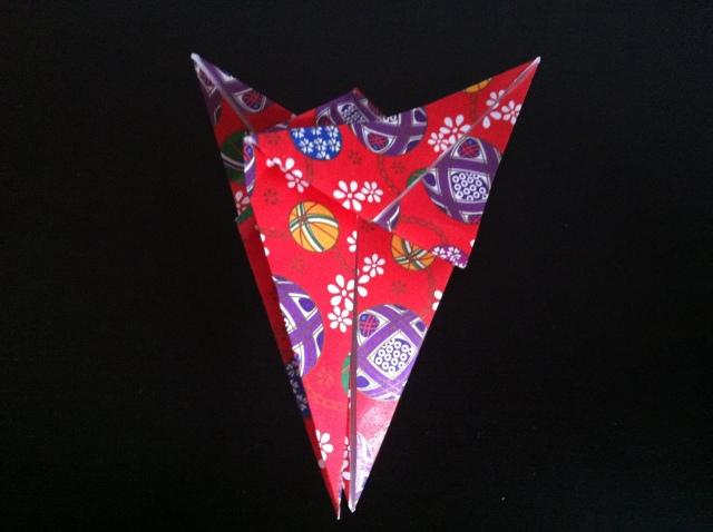折り紙で雛人形 -女雛- ✿ Origami Ⅻ ①_b0246303_23372078.jpg