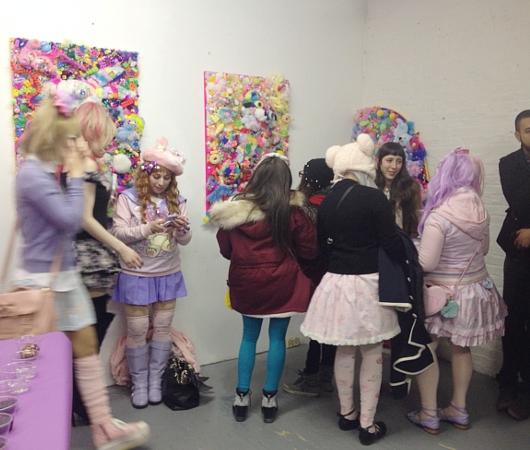 日本のKawaiiがアートになってニューヨークへ!!! 増田セバスチャンさんNY初個展 #SebastianMasuda _b0007805_3121376.jpg