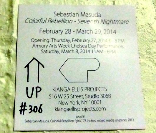 日本のKawaiiがアートになってニューヨークへ!!! 増田セバスチャンさんNY初個展 #SebastianMasuda _b0007805_3124756.jpg