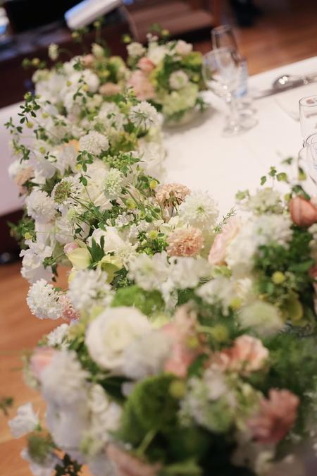 春先の会場装花 ブラッスリー・ポール・ボキューズ様へ 夢ほたる _a0042928_2157305.jpg
