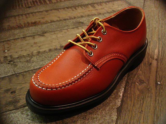 "NEW : REDWING [SuperSole® WORK OXFORD] ""Rough & Tough\"" SG & Oro-Russet \""Portage\"" 2014 SPRING !!_a0132147_23553126.jpg"