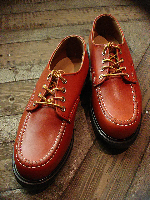 "NEW : REDWING [SuperSole® WORK OXFORD] ""Rough & Tough\"" SG & Oro-Russet \""Portage\"" 2014 SPRING !!_a0132147_23553926.jpg"
