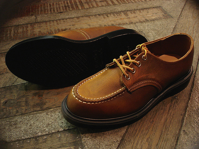 "NEW : REDWING [SuperSole® WORK OXFORD] ""Rough & Tough\"" SG & Oro-Russet \""Portage\"" 2014 SPRING !!_a0132147_23575812.jpg"