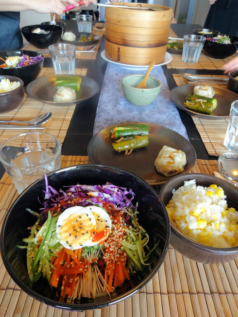 9月 ソウル旅行 その13 明洞 キムガネさんで念願のチョル麺♪_f0054260_843119.jpg
