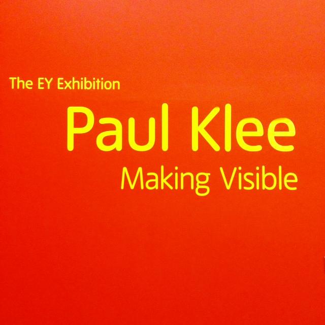 Paul Klee exhibition@Tate Modern_a0093778_0183052.jpg
