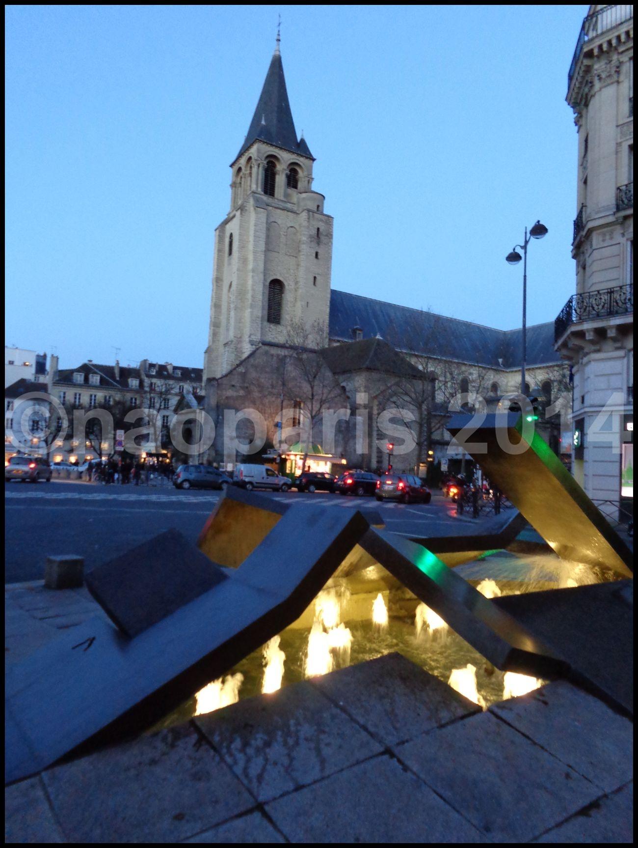 【サンジェルマン教会EGLISE ST-GERMAIN界隈】【PARIS】_a0008105_1935359.jpg
