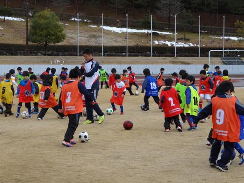 小倉隆史氏サッカー教室に参加_d0010630_21403647.jpg