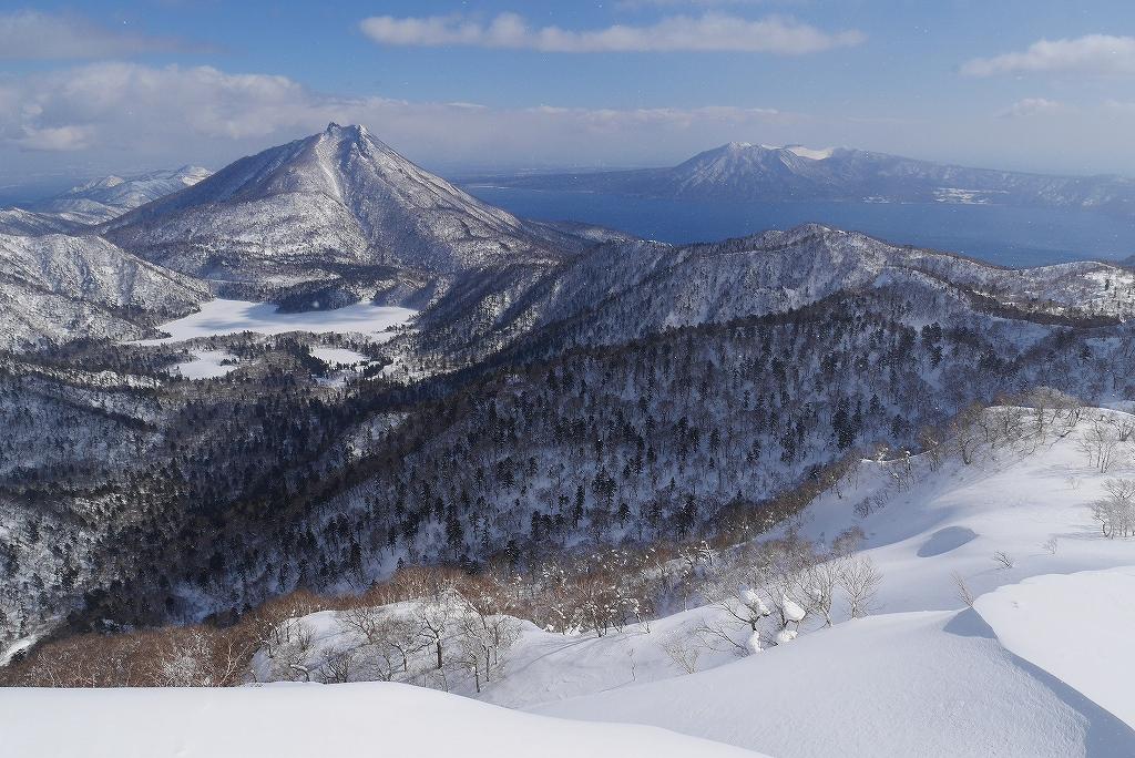 漁岳と小漁山を登ってオコタンペ湖へ、3月2日-速報版-_f0138096_17264857.jpg