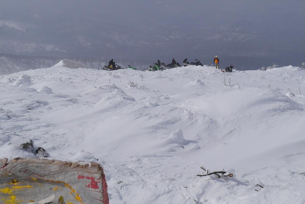漁岳と小漁山を登ってオコタンペ湖へ、3月2日-その1-_f0138096_22181018.jpg