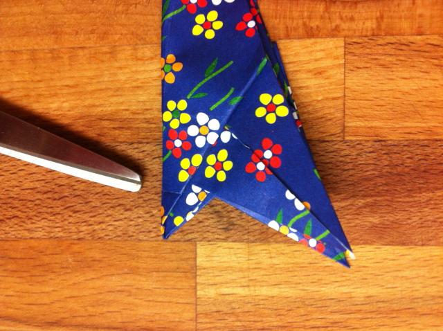 折り紙で雛人形 - 男雛 -✿ Origami Ⅻ ②_b0246303_08444511.jpg