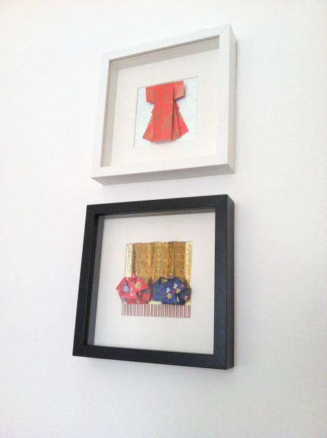 折り紙で雛人形 - 男雛 -✿ Origami Ⅻ ②_b0246303_09140197.jpg