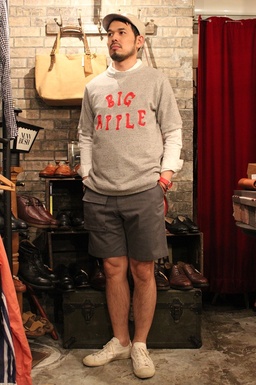 "Jackman ""Nep mini urake SWEAT ITEM\"" ご紹介_f0191324_9193499.jpg"