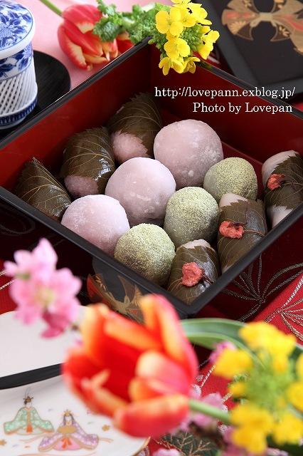 春の和菓子まつり_c0136926_2091540.jpg