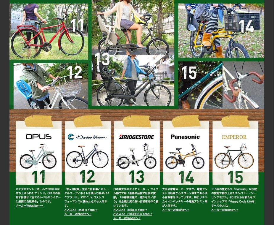 ☆リピト・ホームページ『BIKEページ』更新☆おしゃれ 自転車 女子_b0212032_21123425.jpg