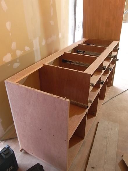 『プールサイドの家』 家具工事。_e0197748_17627.jpg