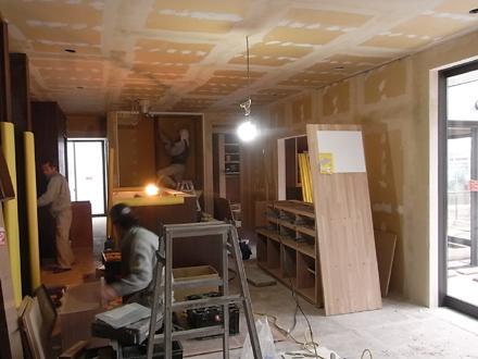『プールサイドの家』 家具工事。_e0197748_176778.jpg