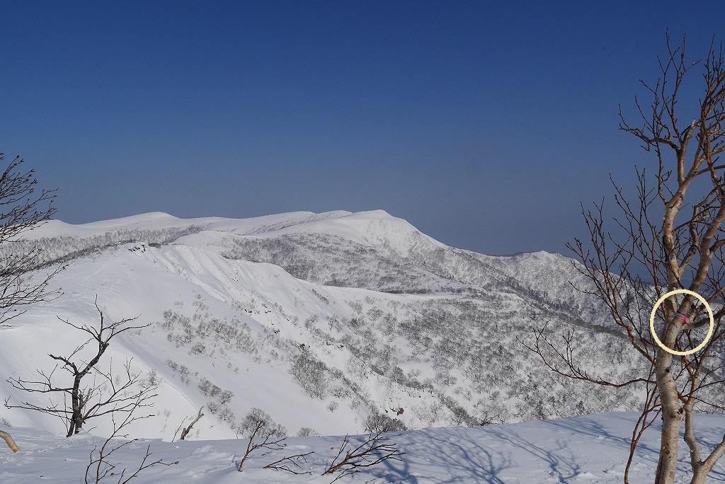 漁岳と小漁山を登ってオコタンペ湖へ、3月2日-その2-_f0138096_14315323.jpg