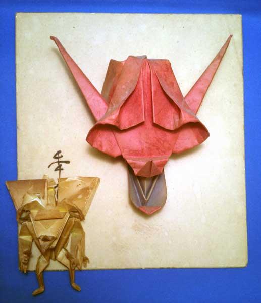 花 折り紙:折り紙 悪魔-arigozira.exblog.jp