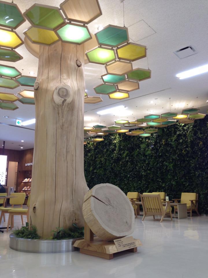 いわて花巻空港を木質化!〜観光振興と林業振興を目指して〜_b0199244_12421136.jpg