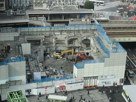 東横線渋谷駅が地下化されてもうすぐ1年_d0183174_8273793.jpg