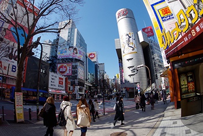 3月4日(火)の渋谷109前交差点_b0056983_11495231.jpg