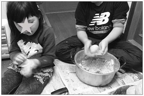 子どもと一緒に味噌作り_c0293787_1251208.jpg